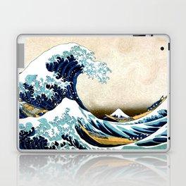 Kanagawa Oiled Laptop & iPad Skin