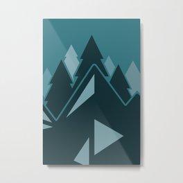 Montagne Metal Print