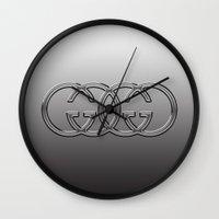 gucci Wall Clocks featuring AuGi by Irina Chuckowree