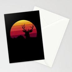 wild sunset Stationery Cards