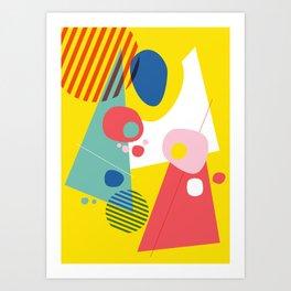 Abstract Pop III Art Print
