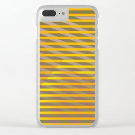 Sunny grey day ... Clear iPhone Case