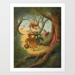 Ode To Beatrix Potter Art Print