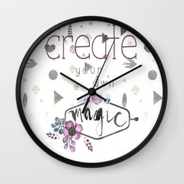 Create Your Own Magic Wall Clock