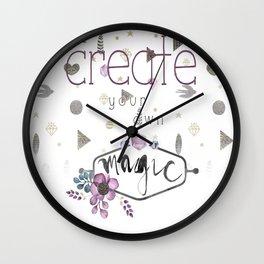 Create Your Own Magic Wall Clock