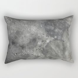 craters on the moon Rectangular Pillow