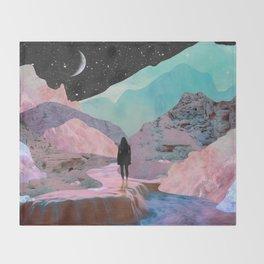 The Mountains of Lemuria Throw Blanket