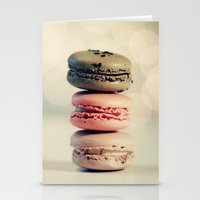 macarons Stationery Cards featuring macarons . . . by [o] Suze q