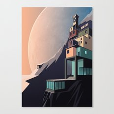Interplanetary arrivals Canvas Print
