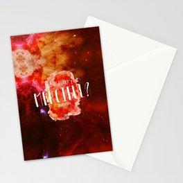 Am I Not Merciful (Illuminae) Stationery Cards