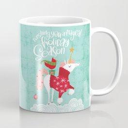 Wishing You a Magical Holiday Season Coffee Mug