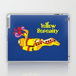 Yellow Serenity Laptop & iPad Skin