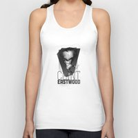 clint eastwood Tank Tops featuring Clint Eastwood by alexviveros.net