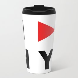 I PLAY NY Travel Mug