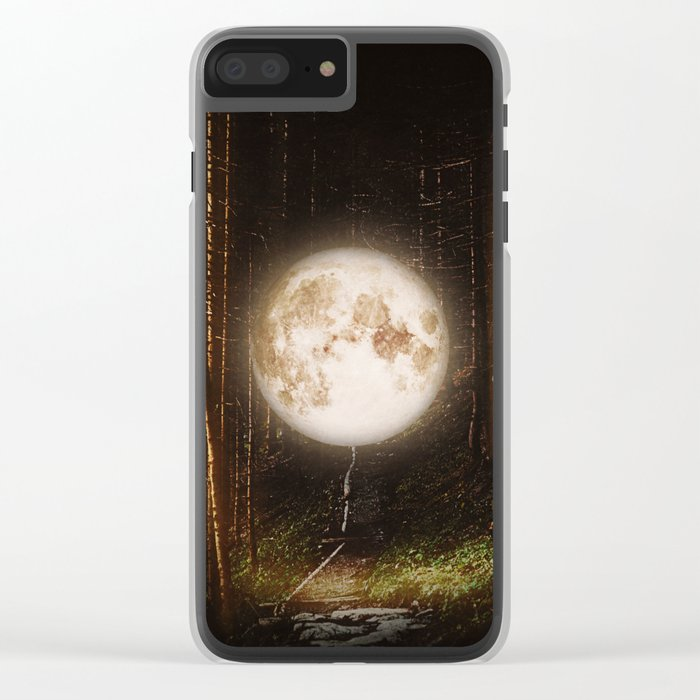 Visiting The Forest Clear iPhone Case