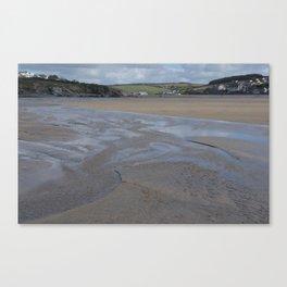 Cornwall Beach Photo 1802 Canvas Print