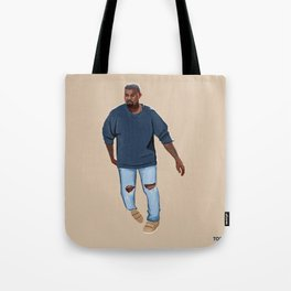 Blue Outfit Tote Bag