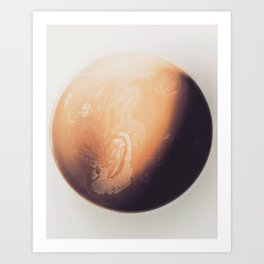 Planet / Photography Art Print