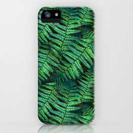 Among the Fern in the Forest iPhone Case
