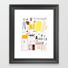 Hunter Gatherer Framed Art Print