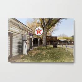 Browns Town campground and historic site in Bishop California Metal Print