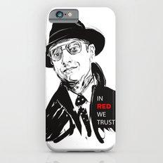 In RED we TRUST iPhone 6s Slim Case