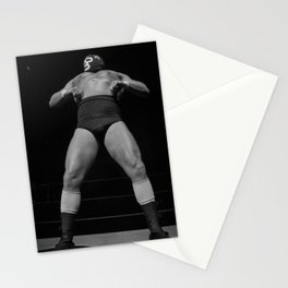 Mighty luchador Stationery Cards