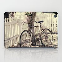 bike iPad Cases featuring bike  by Beverly LeFevre