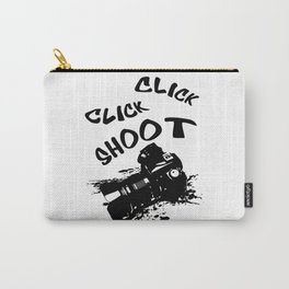 Click shoot Carry-All Pouch