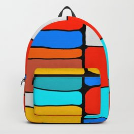 Cargo Ship Containers 8 Backpack