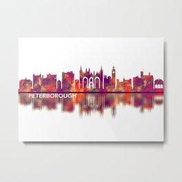 Peterborough England Skyline Metal Print