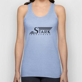 Stark Industries (Tee and Vinyl Cover) Unisex Tank Top