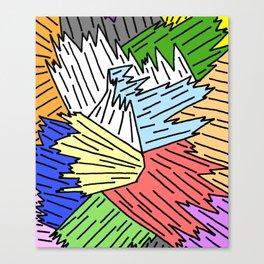Color Shards Canvas Print