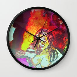 Inferno At The Starlight Revue! Wall Clock