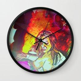 Inferno At The Starlight Revue! Wall Clock