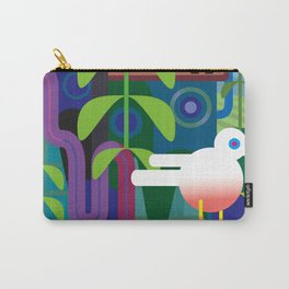 Jungle Square Carry-All Pouch