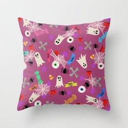 Maybe you're haunted #3 Throw Pillow
