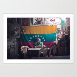 Bar Las Delicias- Caracas - Venezuela Art Print