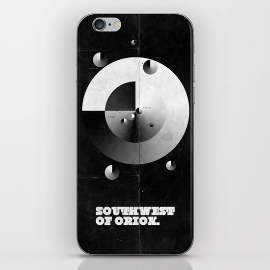 Southwest of Orion iPhone & iPod Skin
