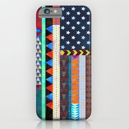 Boho America iPhone Case