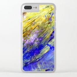 Nature aqua Clear iPhone Case