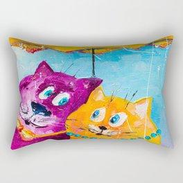LET IT'S RAIN Rectangular Pillow