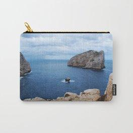 Sardinia Island Italy - Mesozoic Limestone Boulders Carry-All Pouch