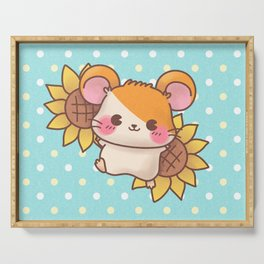 Hamtaro - Light Blue Serving Tray