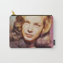 Lauren Bacall, Vintage Hollywood Legend Carry-All Pouch