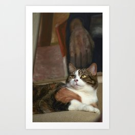 To Be a Cat Art Print