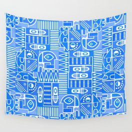 GeoPrint Pattern Wall Tapestry