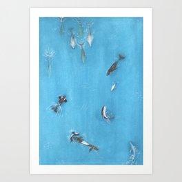 A Whale Of A Time! Art Print