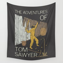 Books Collection: Tom Sawyer Wall Tapestry