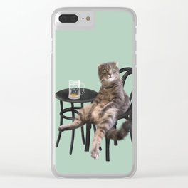 More Beer Please Clear iPhone Case